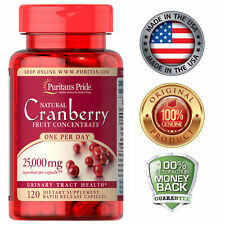 Puritan's Pride One A Day Cranberry - 120 Capsules Free Shipping to US