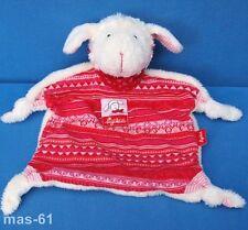SIGIKID Schmusetuch mouton agneau Schnuggi Kuscheltuch Sheep Rosa Lamb