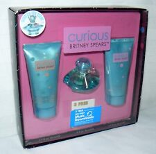 Curious By Britney Spears 3 Piece Fragrance Set Female Pop Star