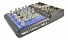 Mixer Atomic pro MIX-S 201fx - 4 Inputs (2 Ch Mono Ed 1 Ch Stereo) with Effects