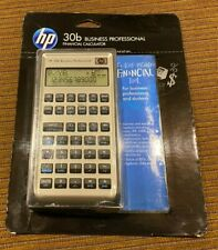 Hp-30b Business Professional Financial Calculator Nip New Unopened Package