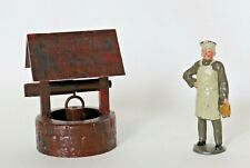 VINTAGE LEAD AND PLASTIC FIGURES: MAN MADE IN ENGLAND AND WELL