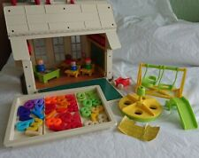 VINTAGE FISHER PRICE SCHOOL 1971 ACCESSORIES FIGURES RARE RETRO COLLECTABLE TOY