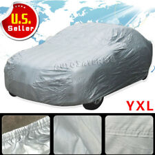 Full Car Cover Waterproof UV Snow Dust Rain Resist All Weather Protection YXL