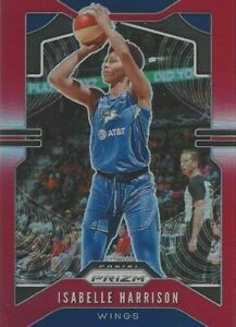 2020 WNBA PANINI ISABELLE HARRISON RED PRIZM PARALLEL CARD * 275/275 * WINGS