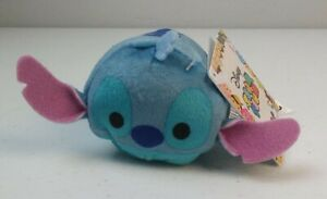 "Disney Tsum Tsum Lilo & Stitch 3"" Stich Plush NWT Hawaii Space Aliens Cartoon"