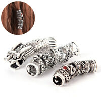 Vintage Dragon Dreadlock Beads Hair Beads Ring DIY Bracet Jewelry Hand Craft Fy