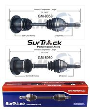 For Cady Seville Buick Riviera Toronado FWD Pair of 2 Front CV Axle SurTrack Set