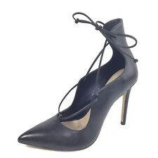 35fc3ffe Aldo thylia para mujer Talla 6.5 B Vestido De Cuero Negro Tacón Bomba  Zapatos