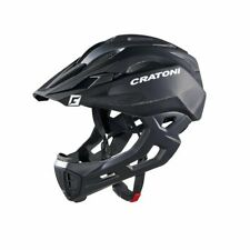 casco freeride c-maniac nero opaco Cratoni bici