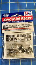 Tamiya 15398 Double Aluminum Rollers (13-12MM) slot car from Mid America