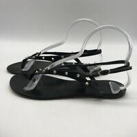 Giuseppe Zanotti Black Slingback Sandals Size 9
