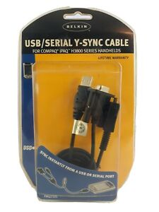 Belkin USB Serial Y-Sync Cable for Compaq iPaq H3800