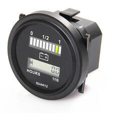 Lead-acid Battery Capacity Indicator Engine Hour Meter 12V 24V 36V 48V 72V IP65