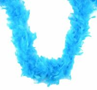 """Pastel Blue 45 Gm 72/"""" 6 ft Baby Shower Chandelle Feather Boa"""