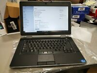 "Used Dell Latitude E6430 Laptop 14"" I5 3340M 2.7GHz 8GB Ram 500GB HDD DVD W10P"