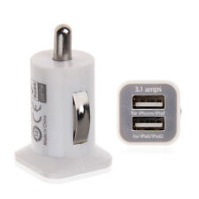 Doppia 3.1A USB 2porte Adattatore caricabatteria da auto per iPod iPhone iPad