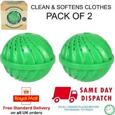 ECO MAGIC WASHING MACHINE LAUNDRY WASH BALL UPTO 1000 WASHES PACK OF 2