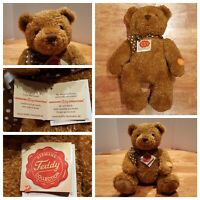 "New! Hermann Teddy Bear Jointed Limbs 13"" Brown D-96112 Made in Germany"