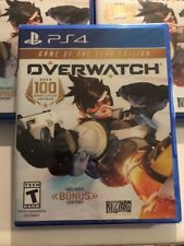 Overwatch Game of Year Edition PlayStation 4 PS4 Game BRAND NEW FACTORY SEALED!