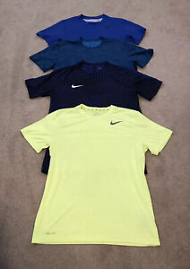 4 x Mens Dri Fit T Shirts Bundle Running/Gym Size Large - VERY GOOD CONDITION!
