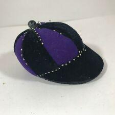 Vintage Equestrian Hat Pin Cushion