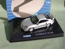 PORSCHE 911 GT2 ARGENTEE DE 2000  1/43 711 COLLECTION