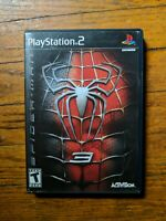 Playstation 2 PS2 Spider-Man 3 *Empty Case / Manual / Insert Only* No Game