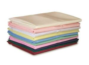 FACTORY CLEARANCE NEW Single Fitted Sheets 100% Polyester Flame Retardant