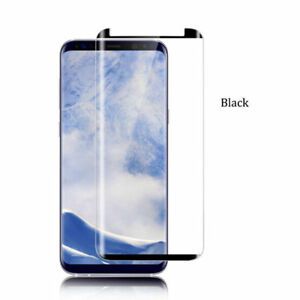 Case Friendly Samsung Galaxy S9 S9+ Full Cover Temper Glass Screen Protector/OO