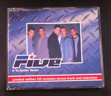 Five - If Ya Gettin' Down - CD Single