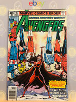 Avengers #187 (9.2) NM- Quicksilver & Scarlet Witch Origin 1979 Bronze Age