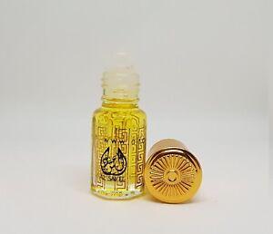 3ml Golden Dust Musk Arabian Attar Ittar Oil Perfume Vanilla Moroccan Gold Musc