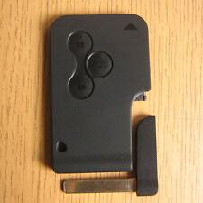 Smart Card 3 Button Remote FOB Key Case RENAULT MEGANE mk2 SCENIC mk2 CLIO mk3