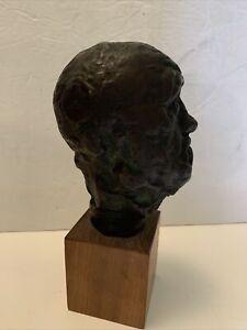 "Baltimore museum of art Alva ""A. Rodin"" Bust ""Alexis Rudier Fondeur Paris""8"""