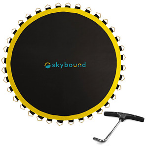 "SkyBound Premium 147"" Trampoline Mat w/88 V-Rings (Fits 14' Frame & 7"" Spring)"