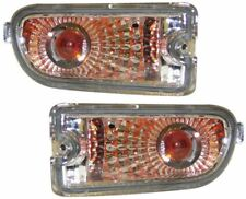 SUBARU IMPREZA 99-01 CRYSTAL CLEAR CHROME FRONT INDICATORS REPEATERS