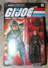 "New listing G.I. Joe Retro Collection Robert ""Grunt� Graves 3.75"" Action Figure Walmart 2021"