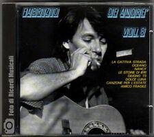 FABRIZIO DE ANDRE' - VOL 8 VOLUME 8 CDOR 8900 (VERY RARE) MINT