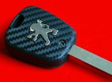 Peugeot CC 107 207 307 407 106 206 406 key decor carbon optic sticker