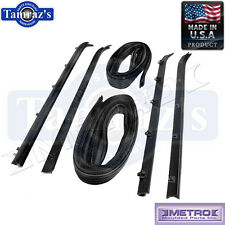 73-80 Chevy / GMC Pickup Truck Front Door Window Channel & Sweeper Kit 6 Pcs