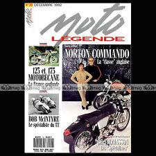 MOTO LEGENDE N°20-b BOB McINTYRE NORTON 750 COMMANDO MOTOBECANE 125 Z 46 56 175