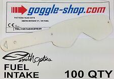 Quantité 100 goggle-shop Tear Offs pour Smith Fuel / admission LUNETTES