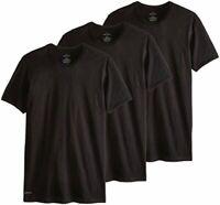 Calvin Klein Men's Cotton Classics Crew Neck T-Shirt, Black,, Black, Size Large