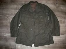 Vintage Nww2 Swedish Sweden Army Wool Uniform Jacket 1941 Dated German Tunic