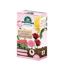 Concime per Rose e Arbusti Fioriti, da 1 Kg, Crescita Vigorosa Colori Vivaci