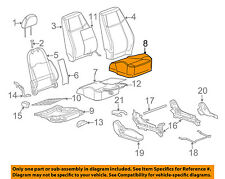 Chevrolet GM OEM 09-10 Cobalt Front Seat-Cushion Bottom Cover 20850206