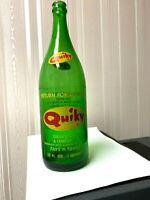 Vintage Soda Pop Beverage Bottle - Quiky,  New Haven, CT