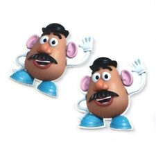 5 X 40MM MR POTATO HEAD TOY STORY LASER CUT FLAT BACK RESIN HEADBANDS HAIR BOWS