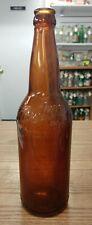 ANTIQUE HUEBNER TOLEDO OHIO PINT BEER BOOTLE